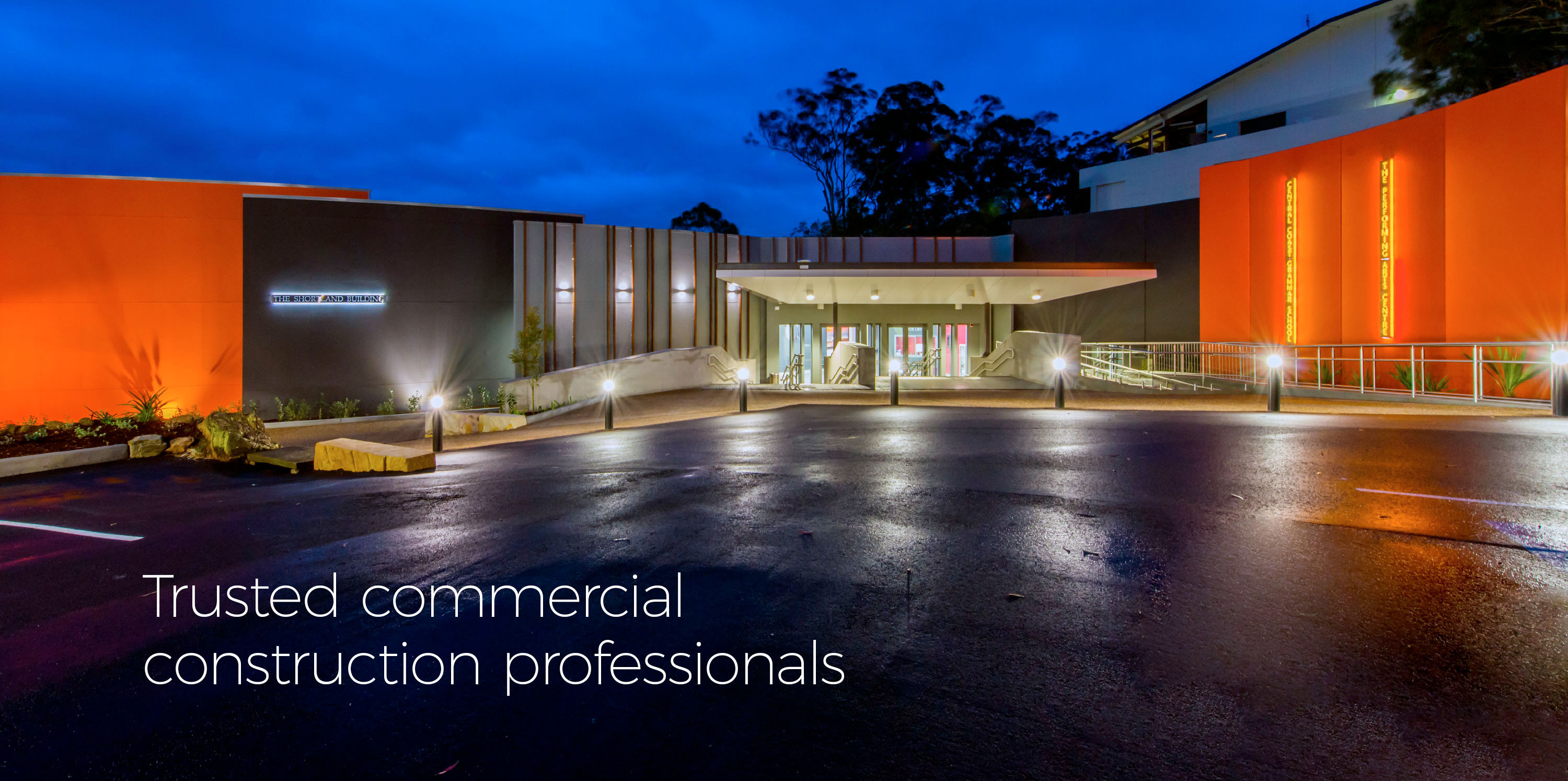Trusted commercial construction professionals