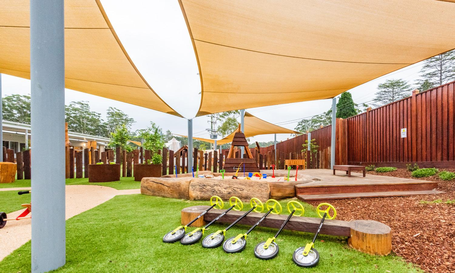 Sprout Child Care playground