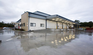 Cold Store and Distribution Centre external