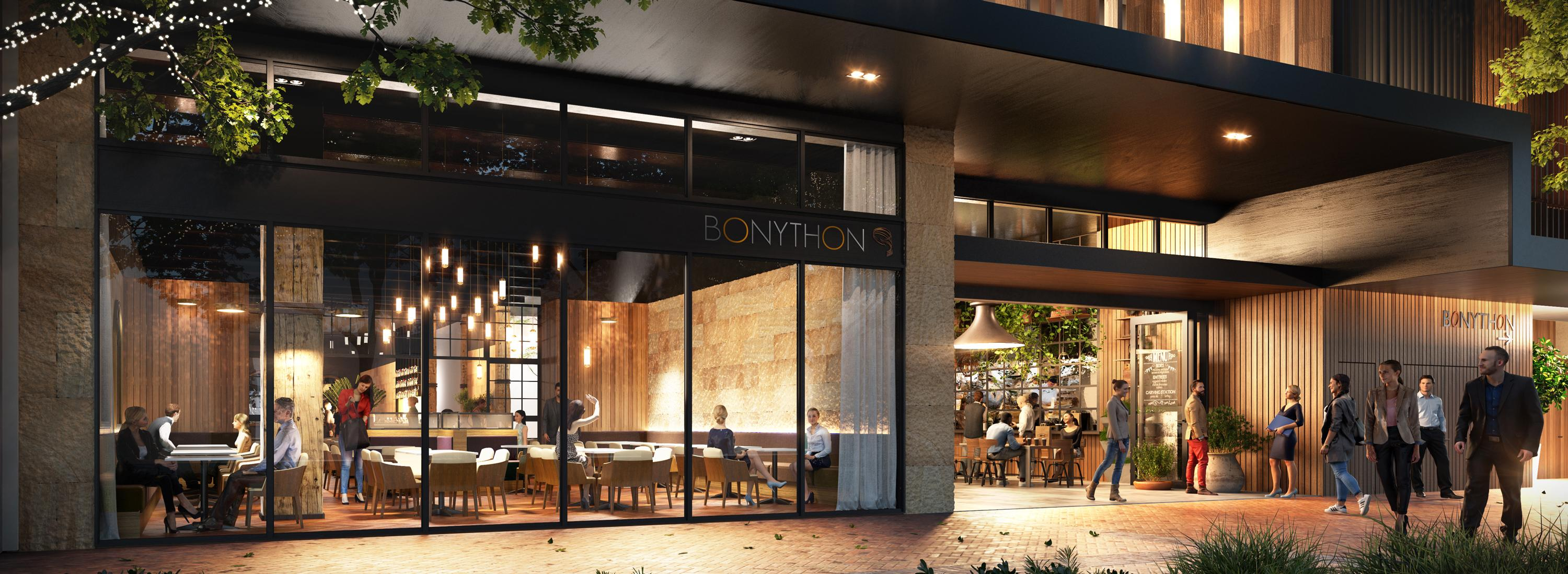 bonython tower restaurant